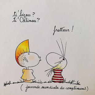 Henriette et la journée du compliment ! Bordeaux !