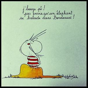 Henriette de Bordeaux, dessins de presse, humoristiques. Sophie BOLLORÉ