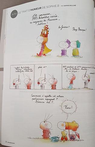 Côte Basque Madame, le trait d'humeur de SophieB. Henriette de Bordeaux. Sophie Bolloré.