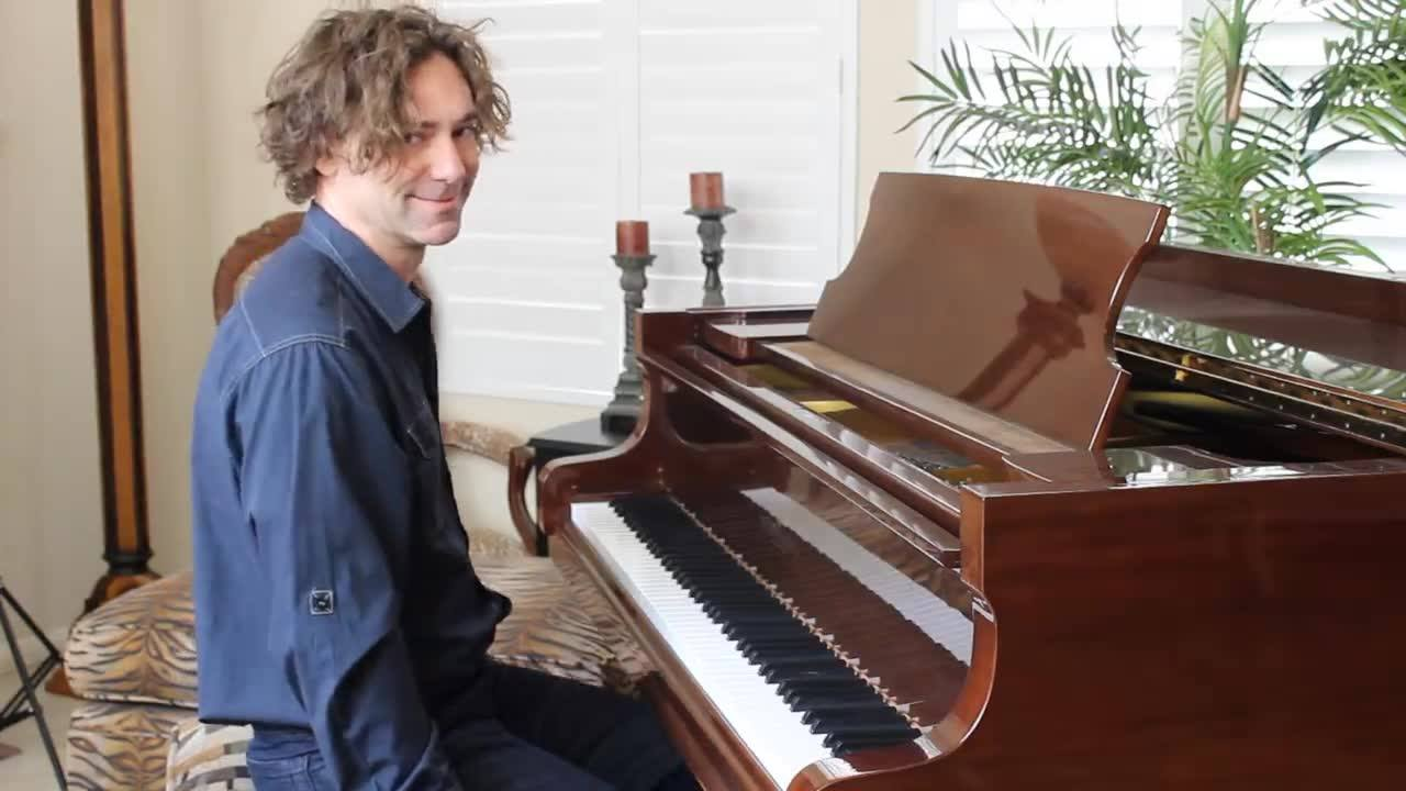 """Here's a quick piece I wrote for the piano called """"Capriccio"""" which means """"a short, lively piece of music."""""""