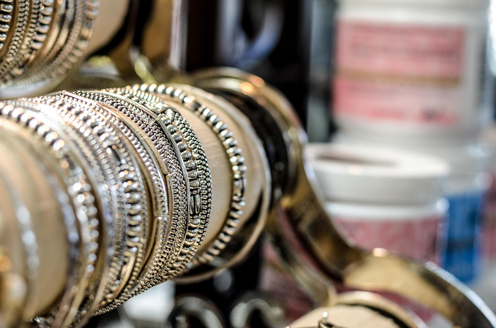 Silver and Gold at Cook's Jewelry
