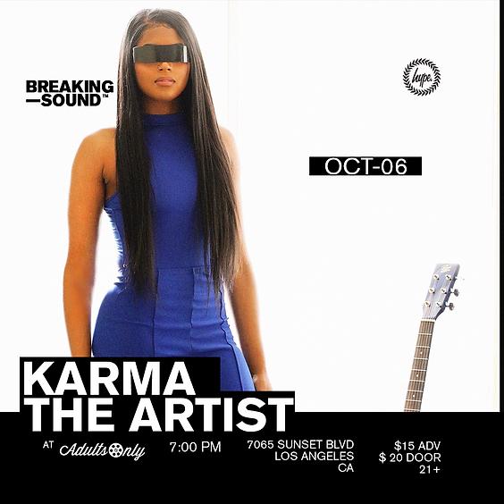 Breaking Sound LA ft. Karma The Artist Live