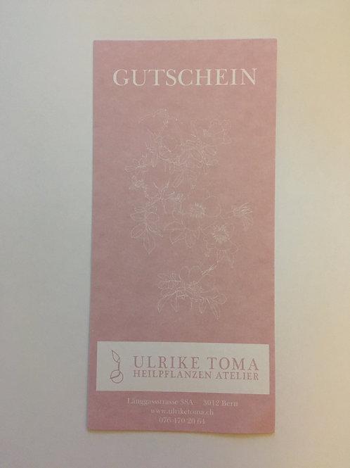 Geschenk Gutschein ab 20 CHF
