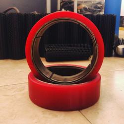 revestimiento rueda poliuretano