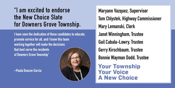 Paula Deacon Garcia, DuPage County Board Member