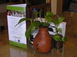 Restaurant tabletop display