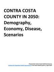 Contra Costa County in 2050
