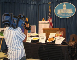 Menu labeling press conference