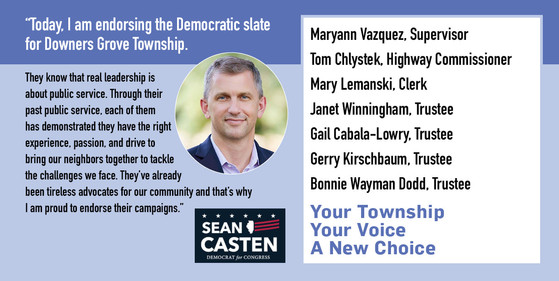 Congressman Sean Casten