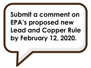 Support a Strong Lead in Water Rule: Provide Your Comments Now!