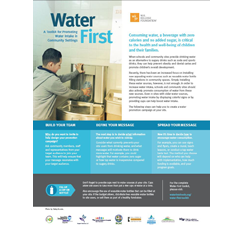 Water First fact sheet