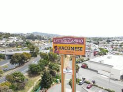 Vaccination billboard