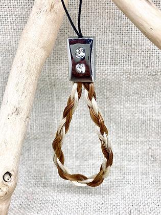 Porte clé strass