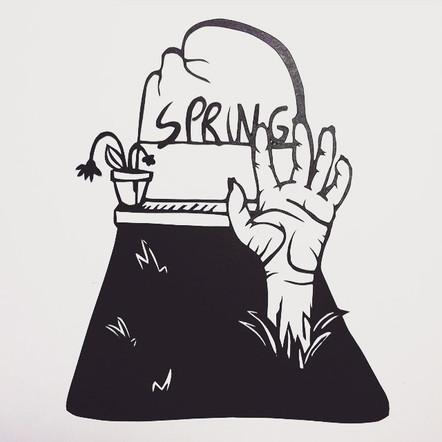 Spring rising