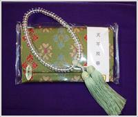 水晶カット女性用念珠
