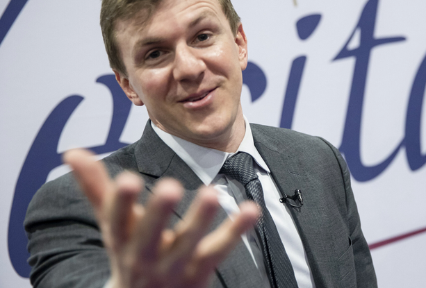 JAMES O'KEEFE SUES TWITTER for 'FALSE AND DEFAMATORY' Statements