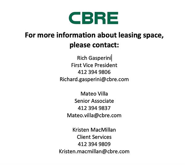 CBRE Leasing Information