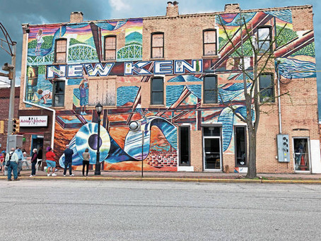 New Kensington residents gather for community cleanup, mural dedication