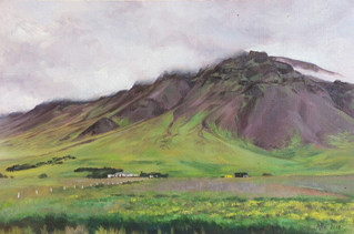 Mountainscape - Iceland