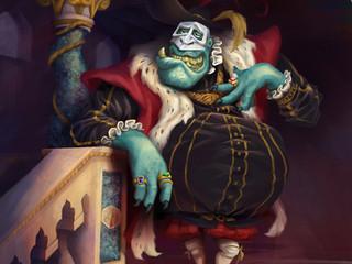 The Ogre's Renaissance Portrait - Jac & the Beanstalk Project