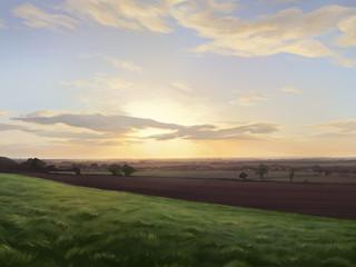 View over Waddington