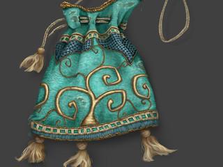 Prop paint: magic bean bag - Jac & the Beanstalk Project