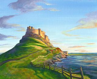 Lindisfarne Castle - Northumberland, England