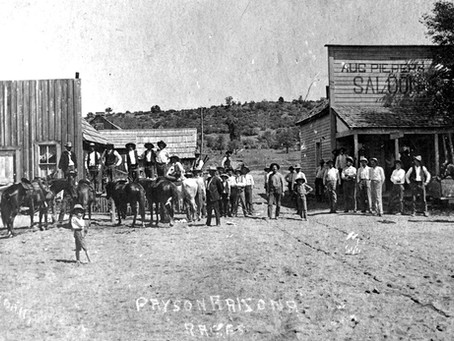 The Story of Payson, Arizona - First Stores and Saloons