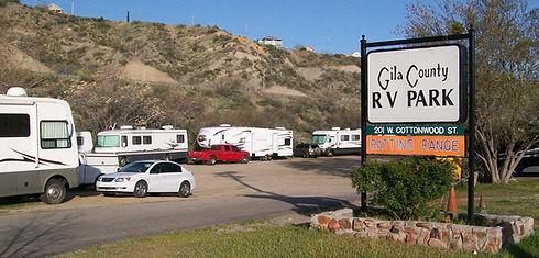 RV Camping in Gila County