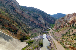 Gila River Below Coolidge Dam