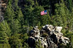 Patriotism In Young, Arizona