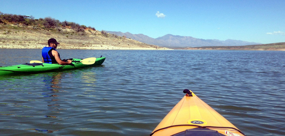 Kayaking Roosevelt Lake To Cholla Launch