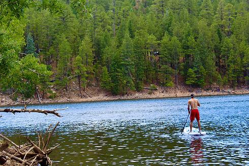 Lakes in Gila County