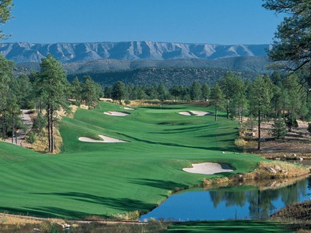 Golfing In Gila County, Arizona