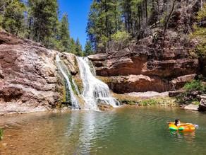 Discovering Haigler Creek in Gila County, Arizona.