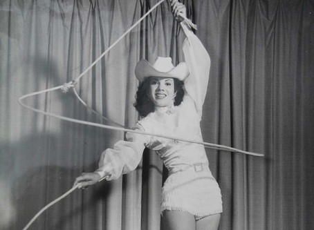 She Could Ride, Trick Rope and Train Horses With the Best - Featured Cowgirl Nancy Sheppard