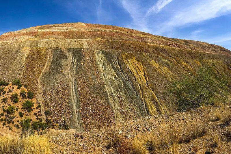 Copper Mines Near Hayden, AZ