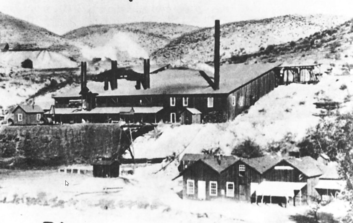 The 1891 Smelter In Globe, AZ