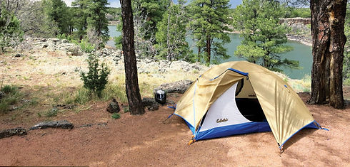Camping in Gila County