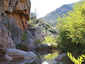 The Perfect Swiming Hole, mixed with a little Gila County History.
