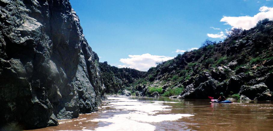 Kayaking Tonto Creek
