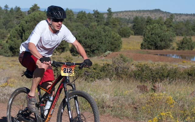 Fire on the Rim Mountain Bike Race -