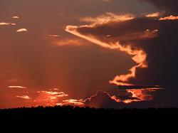 Sunset in Star Valley, Arizona