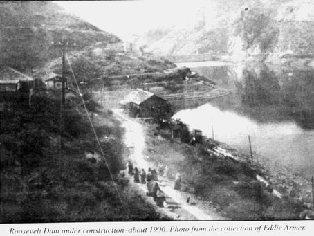 History of The Roosevelt Dam