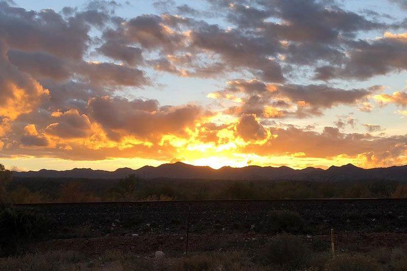 Hayden Arizona Sunset
