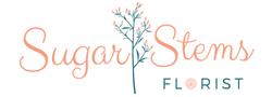 Sugar Stems Florist Logo