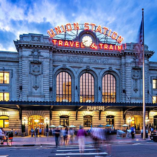 Union Station at Dusk