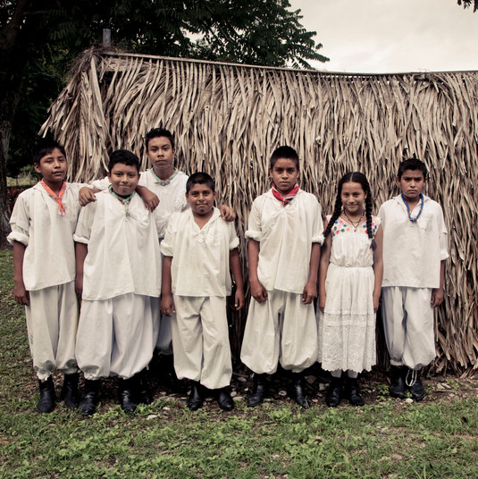 """""""I feel a huge pride because we have like 70 students and ten teachers. I have learnt a little and hope that the children can learn more, but only if God gives me enough life to continue, if not I will stay there.""""  Cruz"""