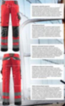Odzież ochronna, spodnie odblaskowe MASCOT