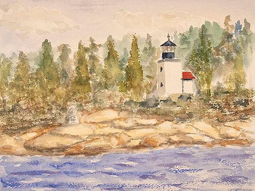 Mark Island Light by Howard Search